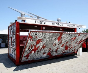 MUVBox Portable Restaurant by Sid Lee Architects