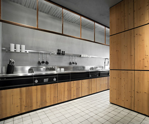 Natural Skin Kitchen by Minacciolo