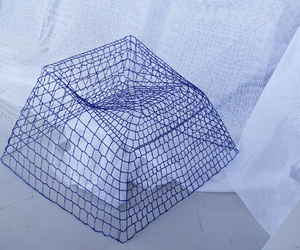 NETwork 3D stitching furniture by studio aisslinger