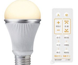 New LED Bulbs by Sharp Can be Remotely Tuned Between 7 Shades of White