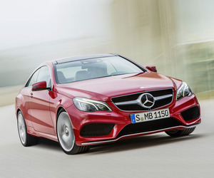 New Mercedes-Benz E-Class Coupé and Cabriolet