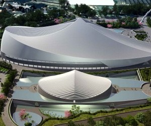 New University Complex In Taiwan By Santiago Calatrava