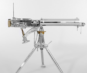 Nickel-polished-303-vickers-machine-gun-m
