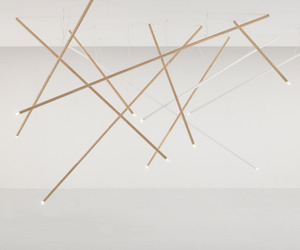 Not Bamboo Lamp by Gam Fratesi