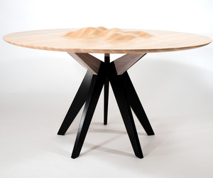 Ocean's Edge Table by Tyson Atwell