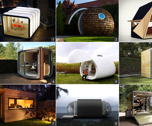 "Cool and Innovative ""Office Pods"""