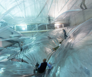 On-space-time-foam-by-toms-saraceno-hangarbicocca-m