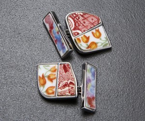 Orange-tulips-porcelain-mens-cufflinks-2-m