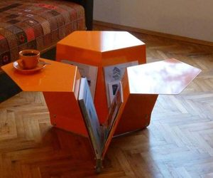 Origami inspired Orri coffee table 