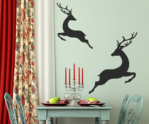 Holiday Decals For a Playful Atmosphere