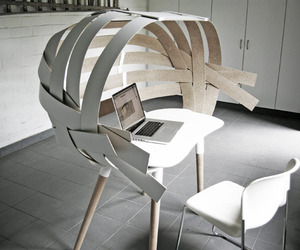 Woven, A Workspace by Bram Vanderbeke