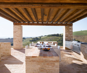 Outdoor Kitchen by Wespi + de Meuron