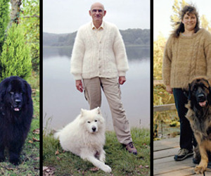Owners-wearing-sweaters-made-out-their-dogs-hair-m