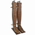 Pair-of-antique-french-riding-boot-stretchers-at-relique-s