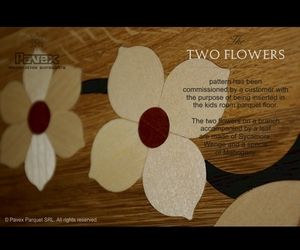 Parquet-inlay-the-two-flowers-accent-pattern-m