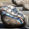 Patterned-boulders-by-portuguese-artist-dalila-gonalves-s