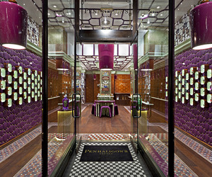 Penhaligons shop in London by Christopher Jenner 