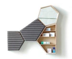 PHARMACEUTICAL CABINET  by Cline Forestier