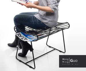 Pillow stool by Hong Ying Guo
