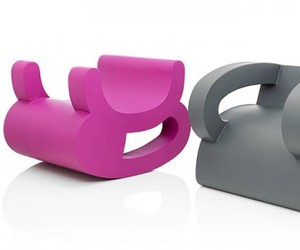 Playful Flip Chairs by Daisuke Motogi Architecture