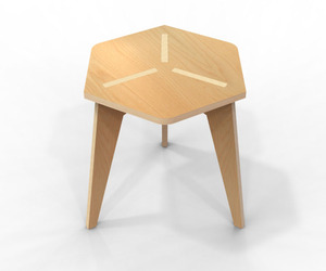 Plywood Chair 3LEG