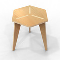 Plywood-chair-3leg-s