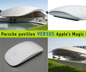 Porche Pavilion versus Apple's Magic Mouse