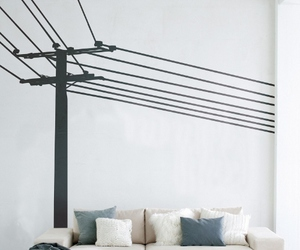 Powerpole Wall Sticker