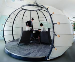 Pumpkin Shaped Meeting Room