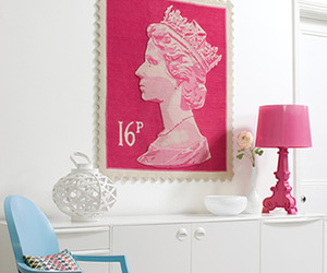 Queen Elizabeth II Stamp Rugs