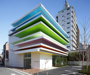 Rainbow Bank in Shimura, Tokyo