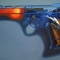 Ready-fire-aim-paintings-of-toy-guns-by-shannon-cannings-s