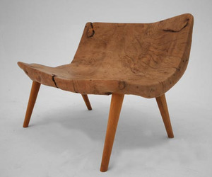 Gursan Ergil reclaimed wood chair 