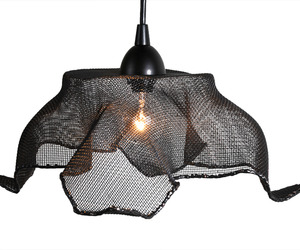 Recycled-copper-mesh-pendant-light-by-salvatecture-studio-m