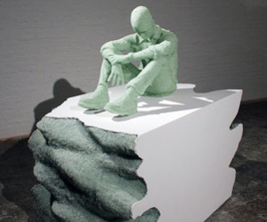 Recycled Glass And Plaster Casts By Daniel Arsham