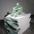 Recycled-glass-and-plaster-casts-by-daniel-arsham-s