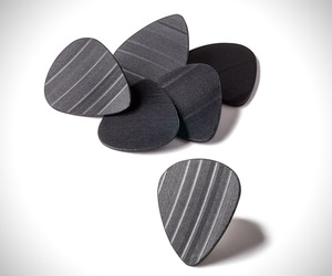 Recycled Record Guitar Picks