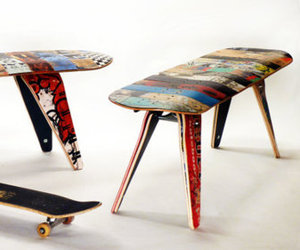 Recycled-skateboard-bench-48-two-seater-m