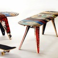Recycled-skateboard-stools-s