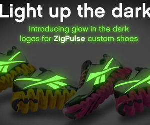 Reebok ZigPulse with Glow in the Dark Logos