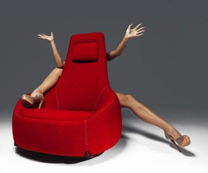Relax with a Smile: Modern Rocking Chair Design by Montis