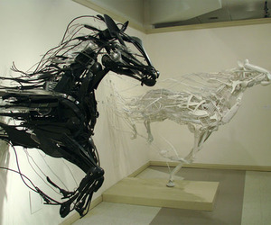Awe-Inspiring Sculptures from Repurposed Items