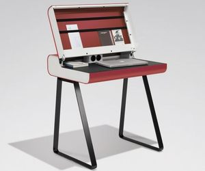 Retro Bureau Workstation by Wharfside