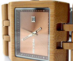 Reveal Bamboo Watch