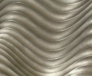 Routed and Metallic Coated MDF