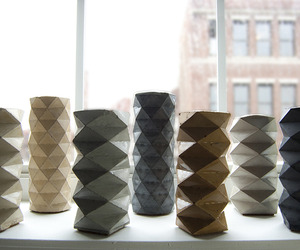 Rumigami - Concrete Candle Holders | materialicious