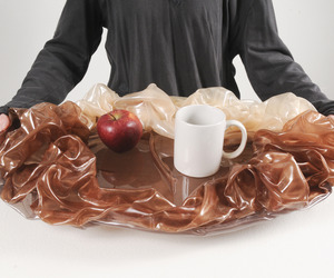 Satin Fabric Tray