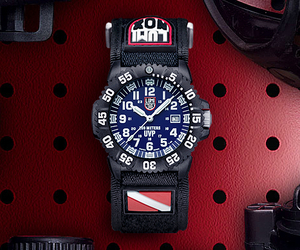 Scott Cassell and Luminox Watches