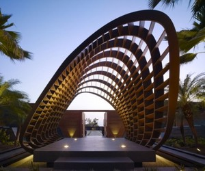 Kona Residence, Sculptural Infusion by Belzberg Architects