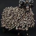 Sculptures-made-from-recycled-car-parts-s